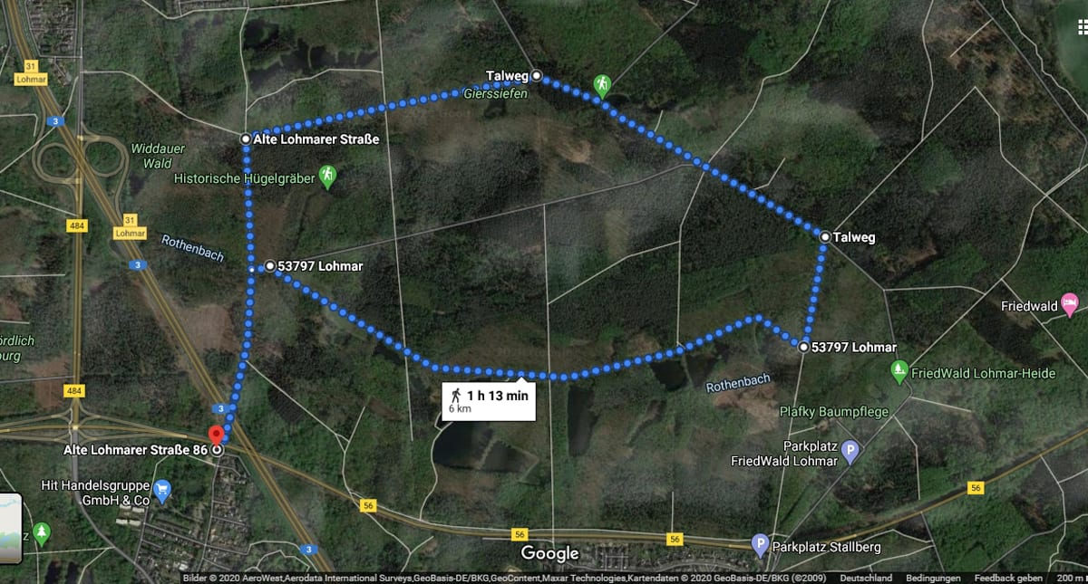 NW_Laufstrecke_6 km