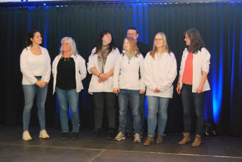 Sportlerehrung STV Faustball Damen 2020